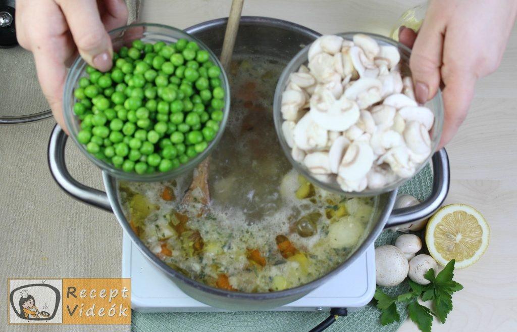 Tárkonyos raguleves recept, tárkonyos raguleves elkészítése 5. lépés