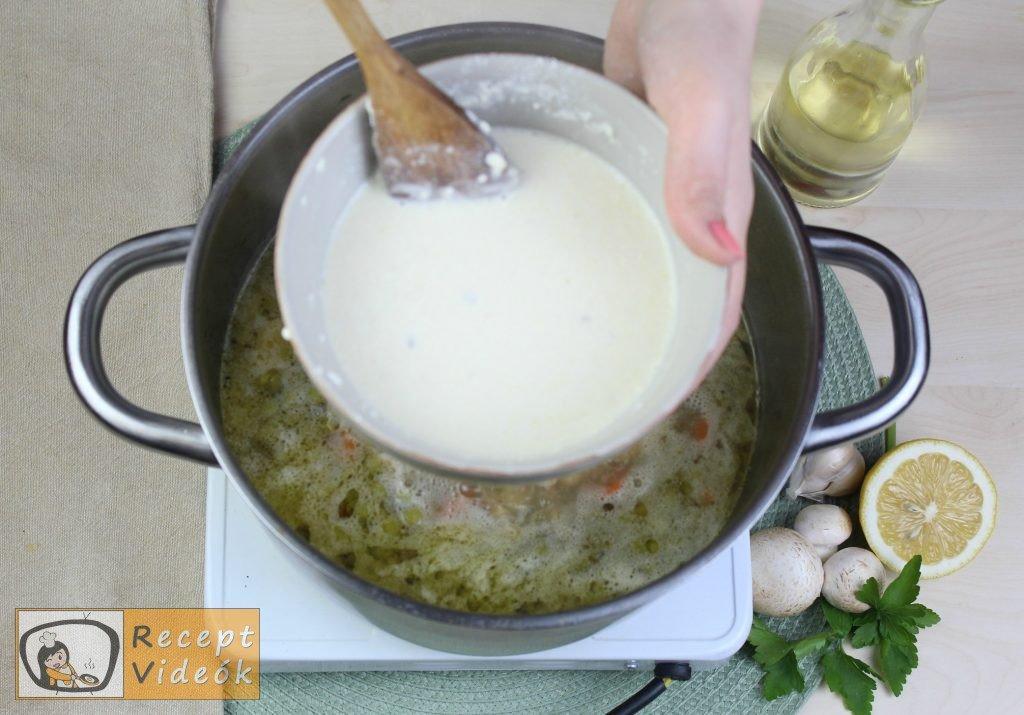 Tárkonyos raguleves recept, tárkonyos raguleves elkészítése 6. lépés