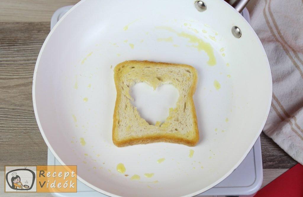 Valentin napi kreatív étel - Valentin napi reggeli elkészítése 8. lépés