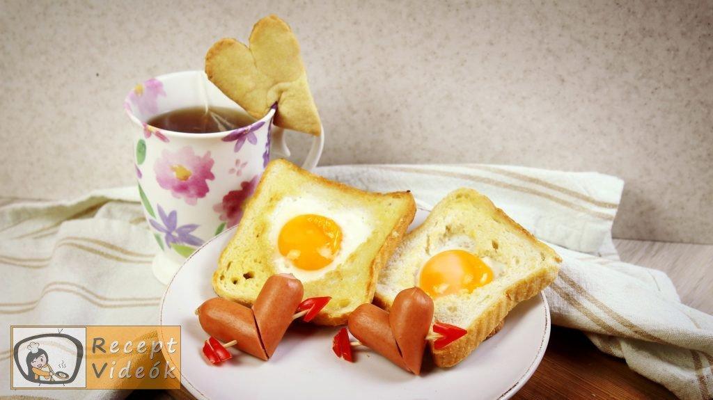 Valentin napi kreatív étel - Valentin napi reggeli elkészítése - Recept Videók