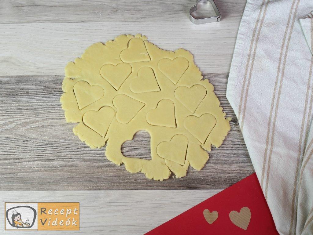 Valentin napi kreatív étel - Valentin napi reggeli elkészítése 5. lépés