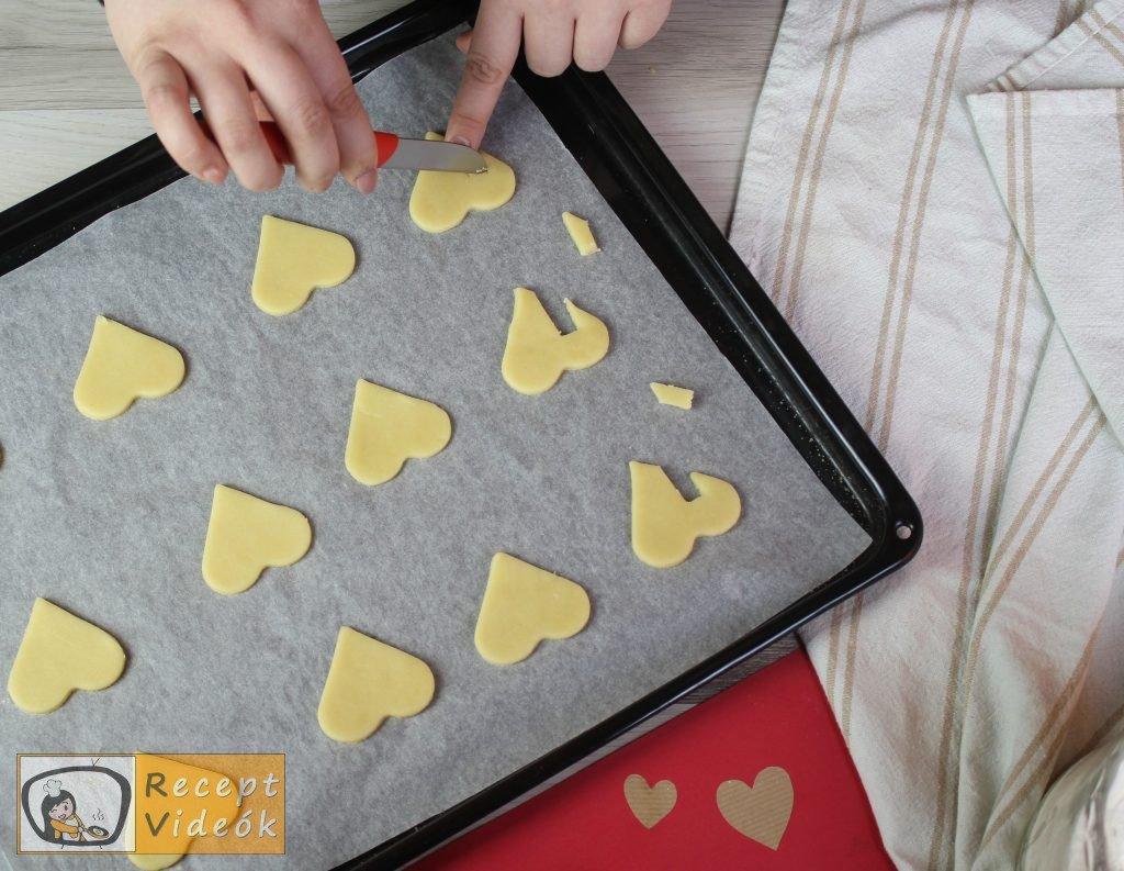 Valentin napi kreatív étel - Valentin napi reggeli elkészítése 6. lépés