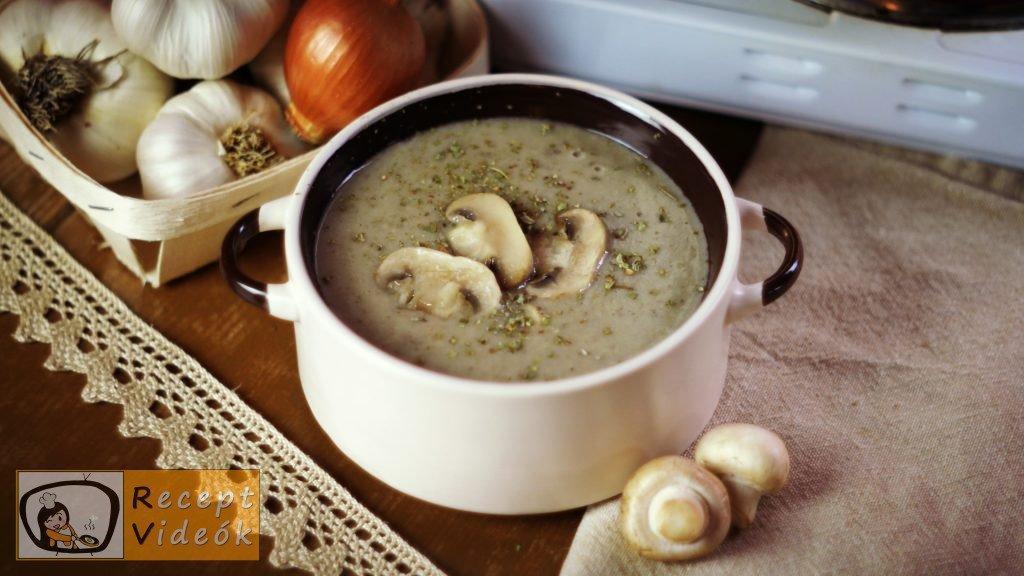 Gombakrémleves recept, gombakrémleves elkészítése - Recept Videók