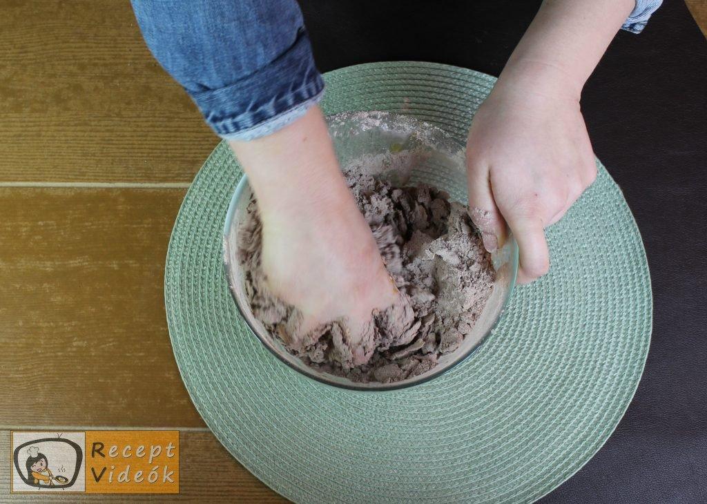 Reszelt túrós süti recept, reszelt túrós süti elkészítése 3. lépés