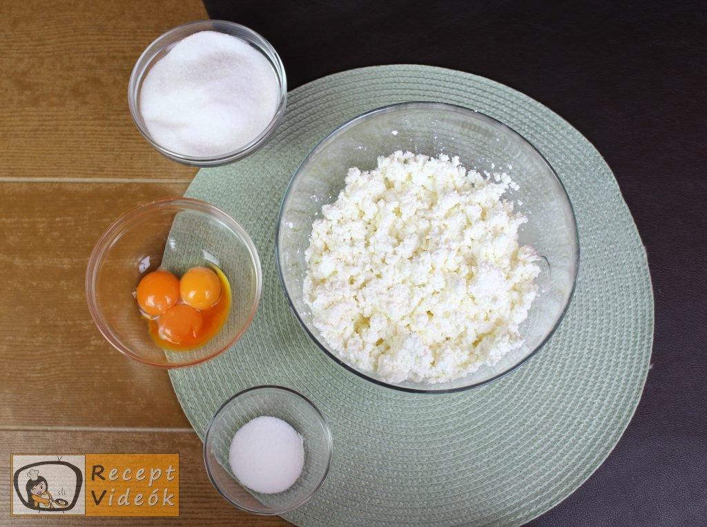 Reszelt túrós süti recept, reszelt túrós süti elkészítése 5. lépés
