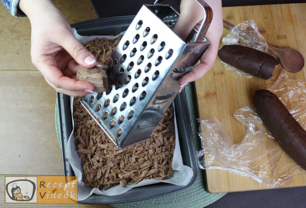 Reszelt túrós süti recept, reszelt túrós süti elkészítése 7. lépés