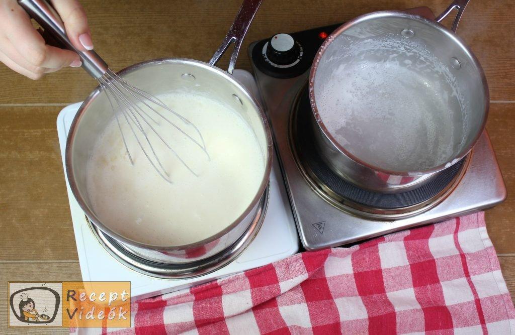 Sonkatekercs recept, sonkatekercs elkészítése 2. lépés