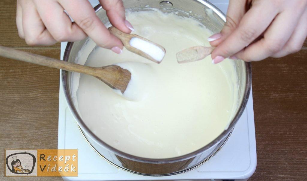 Sonkatekercs recept, sonkatekercs elkészítése 3. lépés