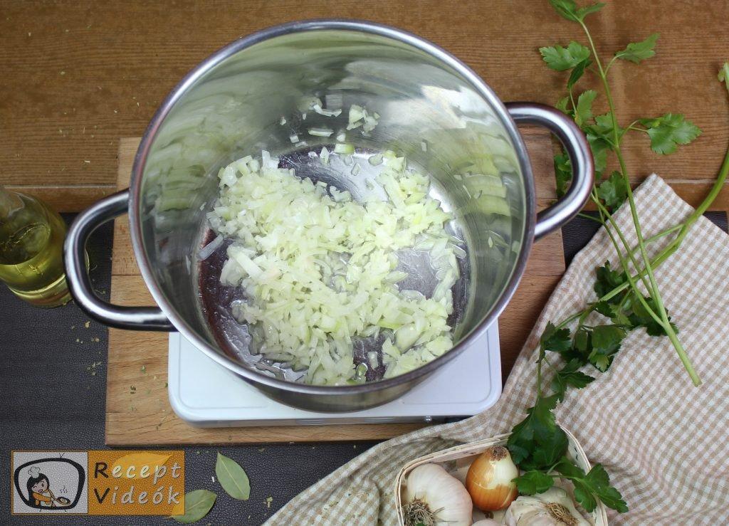 Palócleves recept, palócleves elkészítése 1. lépés