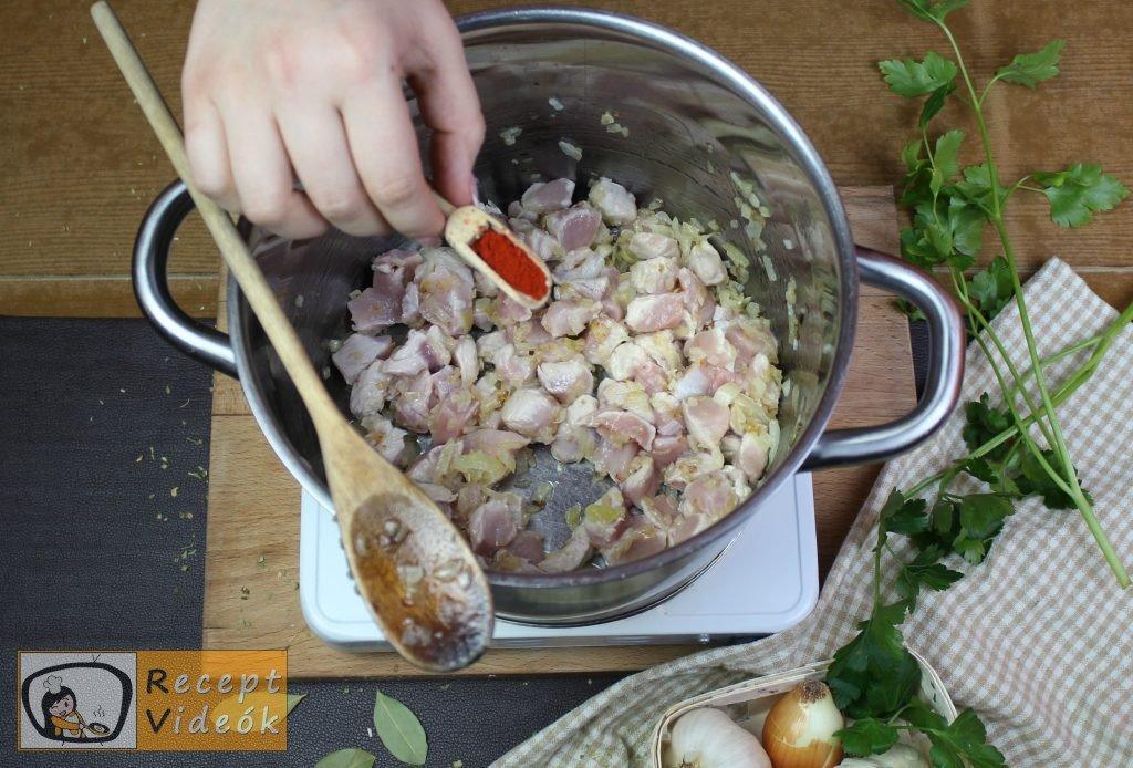 Palócleves recept, palócleves elkészítése 5. lépés