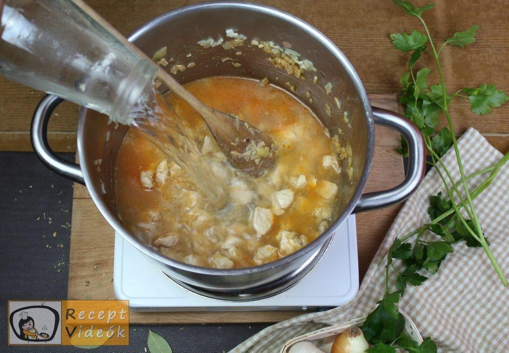 Palócleves recept, palócleves elkészítése 7. lépés