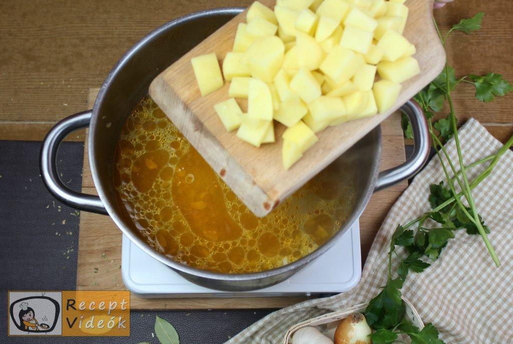 Palócleves recept, palócleves elkészítése 8. lépés