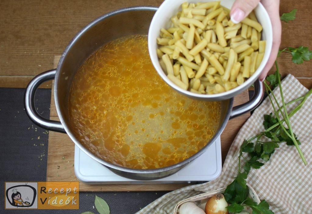 Palócleves recept, palócleves elkészítése 9. lépés