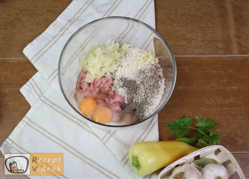 Hagyományos töltött paprika recept, hagyományos töltött paprika elkészítése 1. lépés