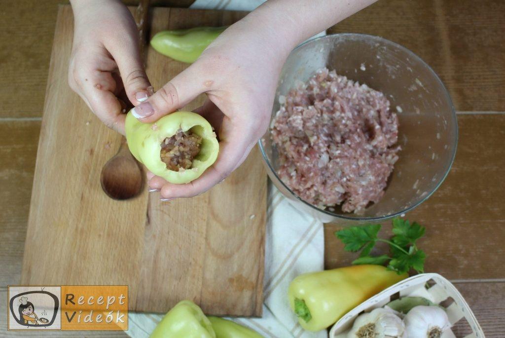 Hagyományos töltött paprika recept, hagyományos töltött paprika elkészítése 2. lépés