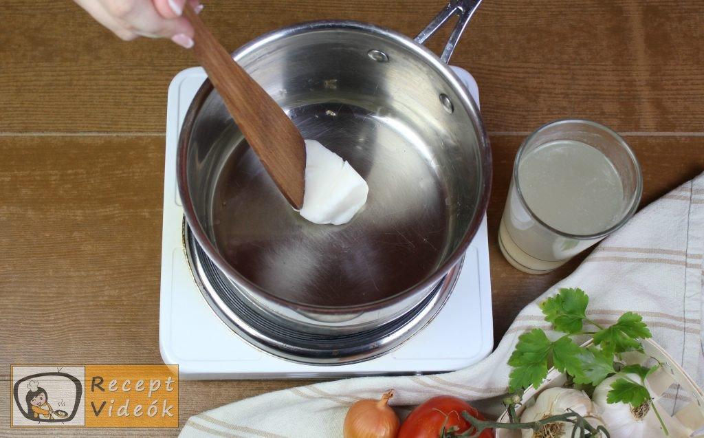 Hagyományos töltött paprika recept, hagyományos töltött paprika elkészítése 5. lépés