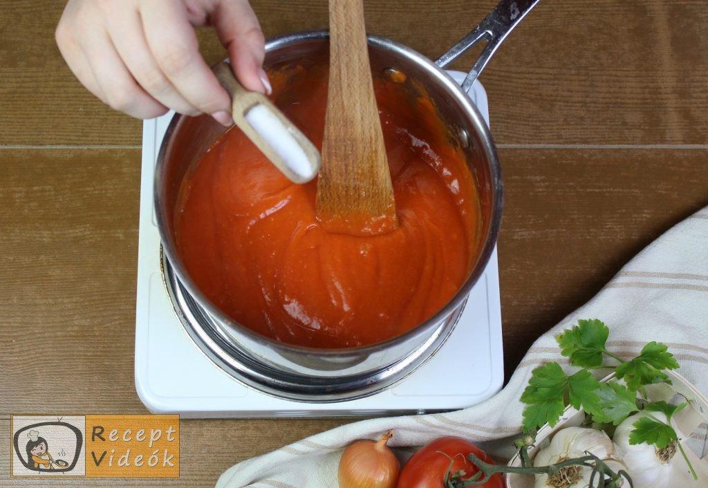 Hagyományos töltött paprika recept, hagyományos töltött paprika elkészítése 8. lépés
