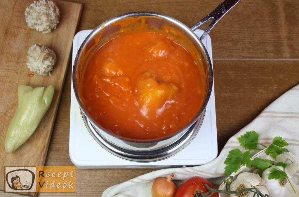 Hagyományos töltött paprika recept, hagyományos töltött paprika elkészítése 10. lépés