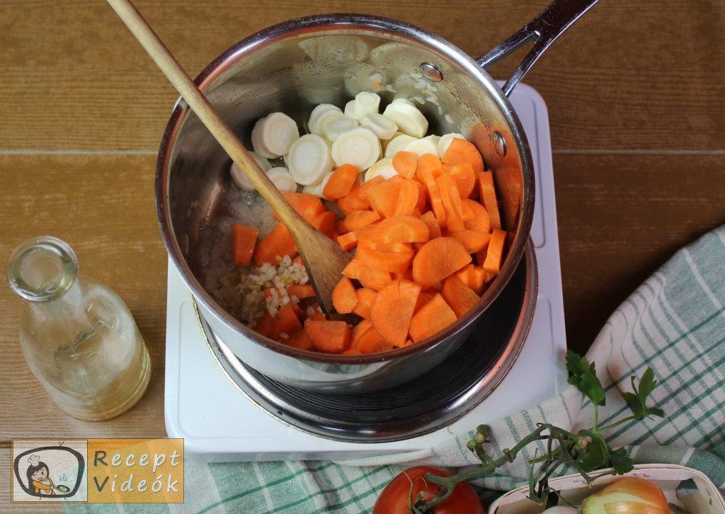 Vadas recept, vadas elkészítése 3. lépés