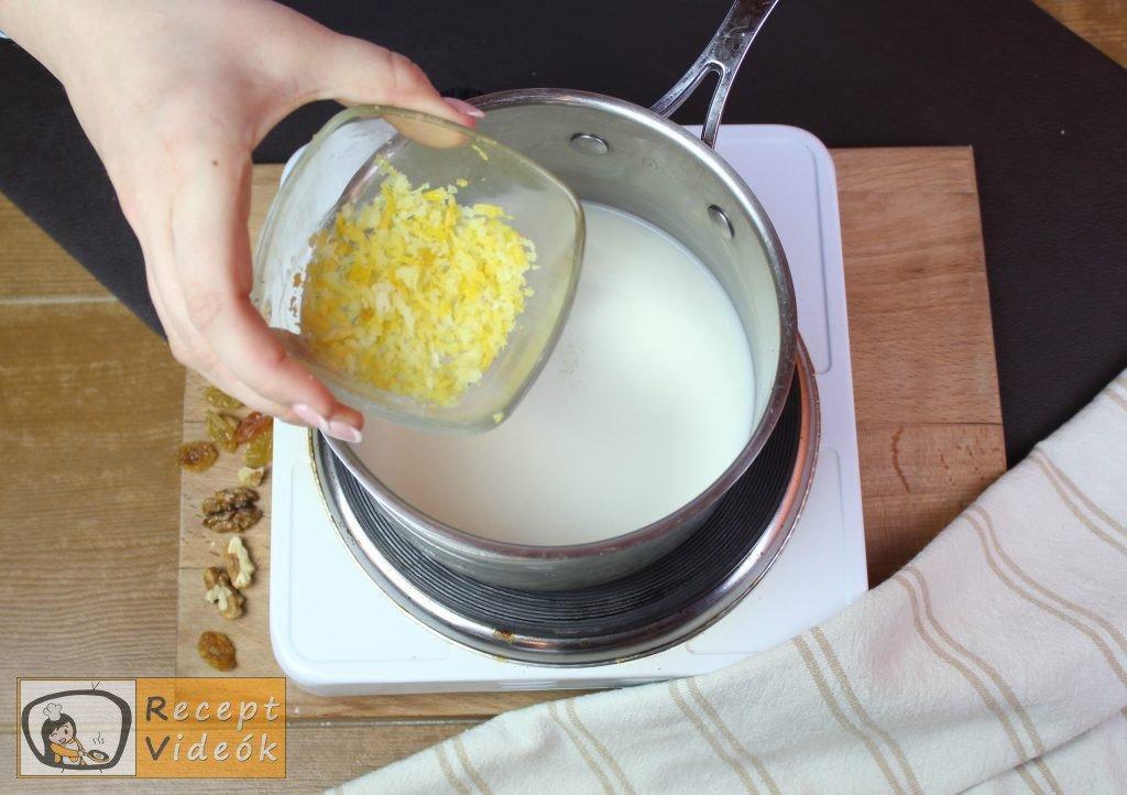 Házi gundel palacsinta recept, házi gundel palacsinta elkészítése 2. lépés