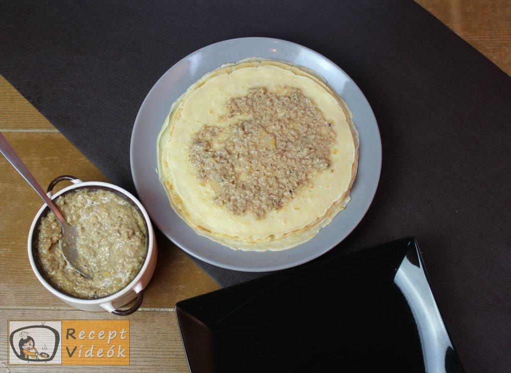 Házi gundel palacsinta recept, házi gundel palacsinta elkészítése 9. lépés