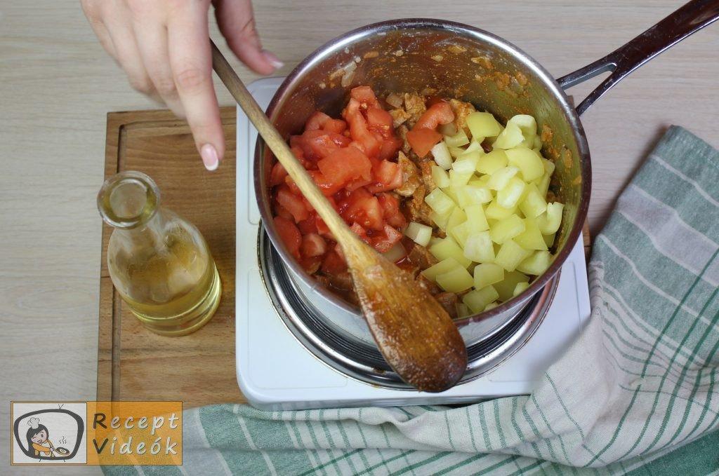 Bácskai rizseshús recept, bácskai rizseshús elkészítése 5. lépés
