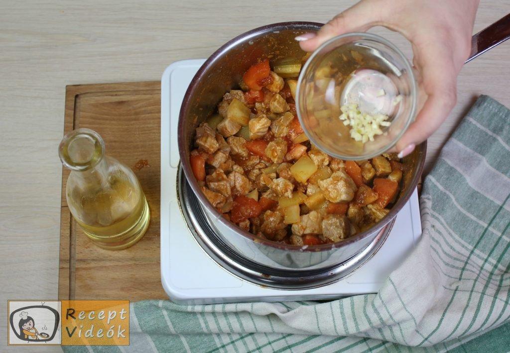 Bácskai rizseshús recept, bácskai rizseshús elkészítése 6. lépés