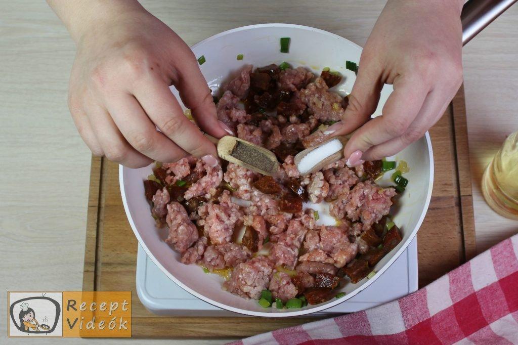 Húsos batyu recept, húsos batyu elkészítése 4. lépés