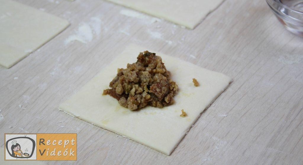 Húsos batyu recept, húsos batyu elkészítése 8. lépés
