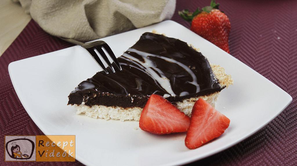 Csokoládés kókuszpite recept, csokoládés kókuszpite elkészítése - Recept Videók