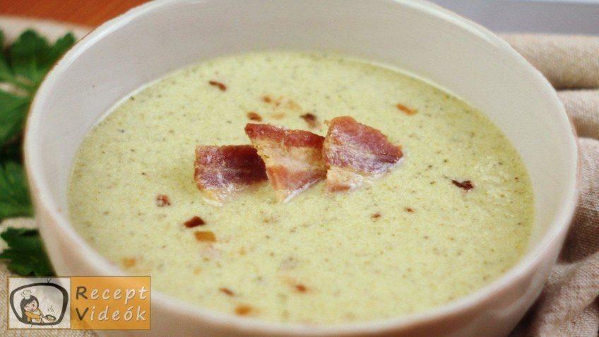 Brokkoli krémleves recept, brokkoli krémleves elkészítése - Recept Videók