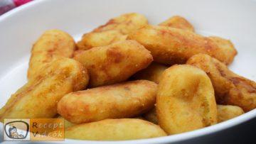 Burgonyakrokett recept, burgonyakrokett elkészítése - Recept Videók