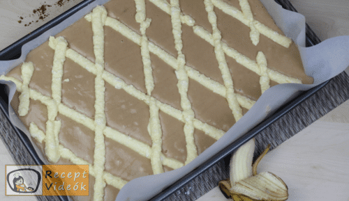 Rácsos sütemény recept, rácsos sütemény elkészítése 10. lépés