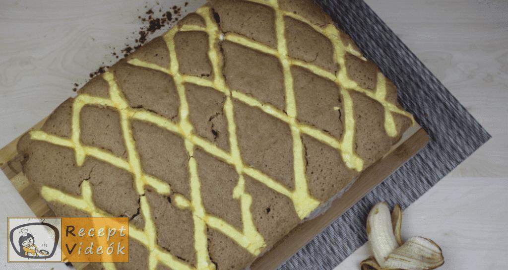 Rácsos sütemény recept, rácsos sütemény elkészítése 17. lépés