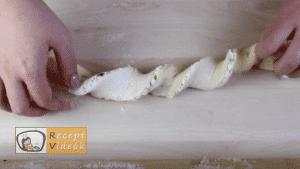 Kókuszos csiga recept, kókuszos csiga elkészítése 9. lépés