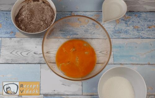 málnás-joghurtos alagút recept, málnás-joghurtos alagút elkészítése 1. lépés