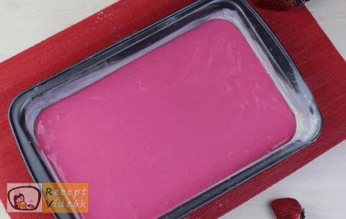 Valentin napi süti recept - valentin napi mini ombre torta elkészítése 6. lépés