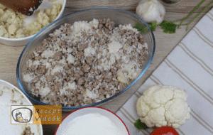 Rakott karfiol recept, rakott karfiol elkészítése 8. lépés