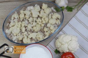 Rakott karfiol recept, rakott karfiol elkészítése 9. lépés