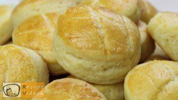 Vajas pogácsa recept, vajas pogácsa elkészítése - Recept Videók