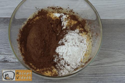 Vakondtúrás torta recept, vakondtúrás torta elkészítése 2. lépés