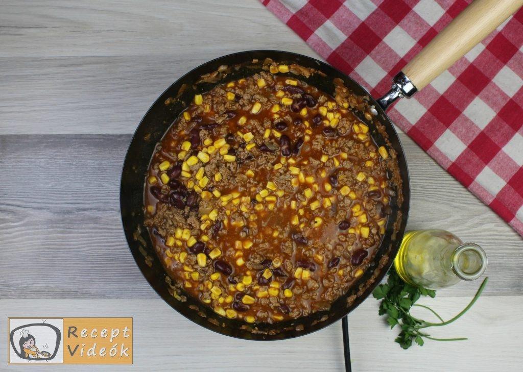 Mexikói chilis bab recept, mexikói chilis bab elkészítése 5. lépés