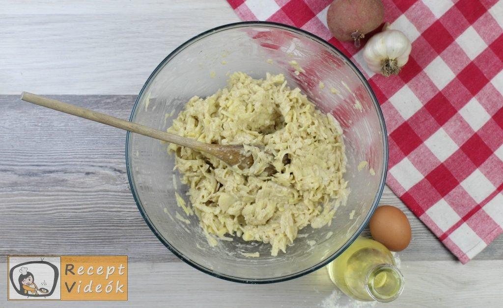 Tócsni recept, tócsni elkészítése 3. lépés
