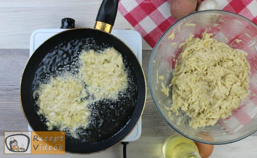 Tócsni recept, tócsni elkészítése 4. lépés