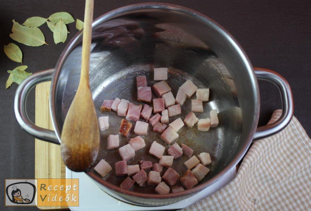 Székelykáposzta recept, székelykáposzta elkészítése 1. lépés