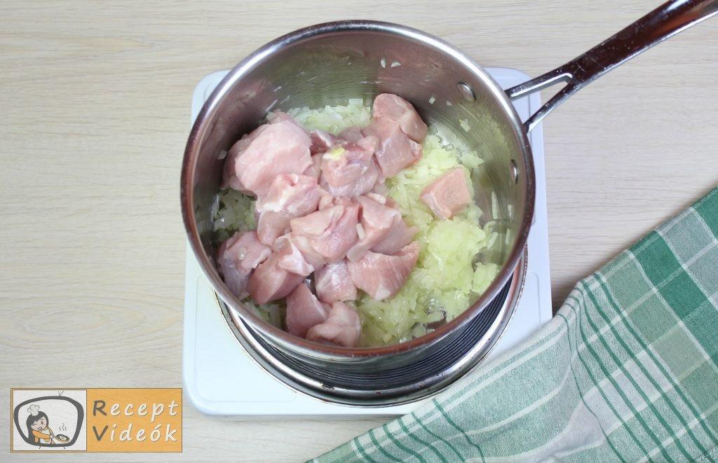Sólet recept, sólet elkészítése 4. lépés