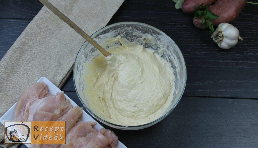 Csirke sörtésztában recept, csirke sörtésztában elkészítése 1. lépés