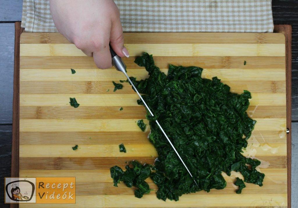 Spenótfőzelék recept, spenótfőzelék elkészítése 3. lépés