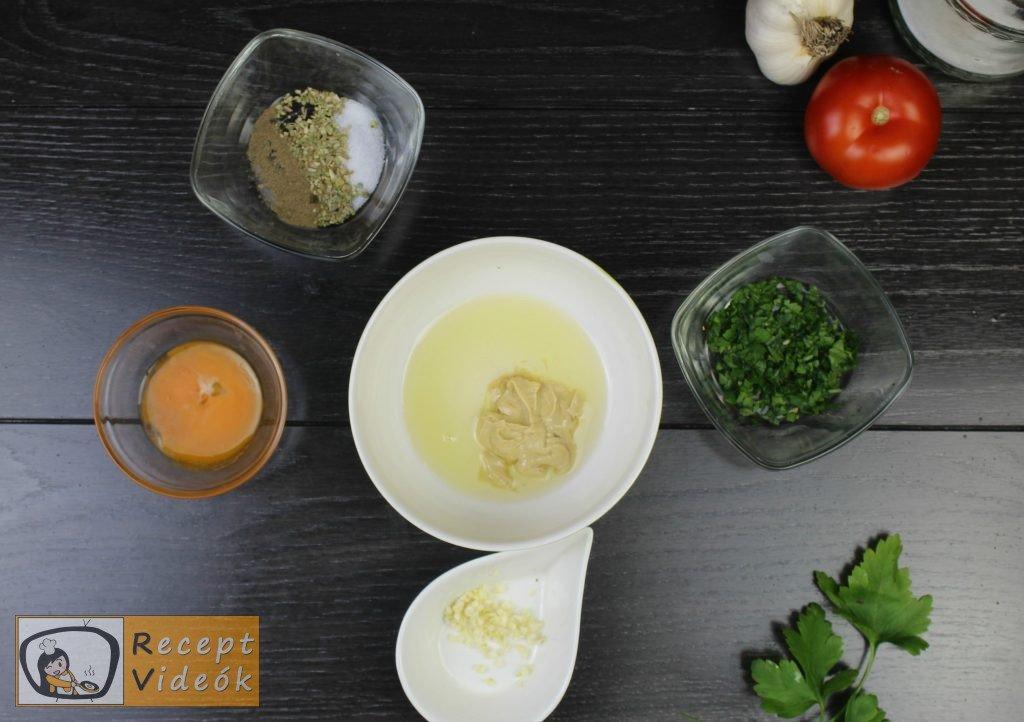 Cézár saláta recept, cézár saláta elkészítése 2. lépés
