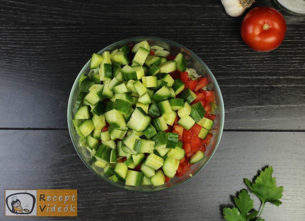 Cézár saláta recept, cézár saláta elkészítése 1. lépés